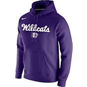 Nike Men's Kansas State Wildcats Purple Retro Basketball Pullover Hoodie