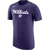 Nike Men's Kansas State Wildcats Purple Dri-FIT Retro Basketball T-Shirt