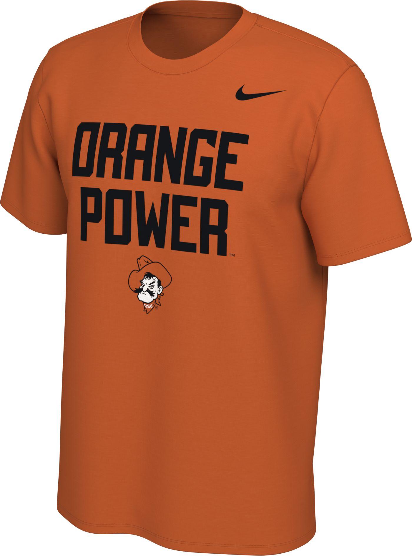 Nike Men's Oklahoma State Cowboys Orange Mantra T-Shirt
