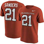 Nike Men's Oklahoma State Cowboys Barry Sanders #21 Orange Football Jersey T-Shirt