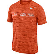 Nike Men's Oklahoma State Cowboys Orange Velocity 'Go Pokes' Football T-Shirt