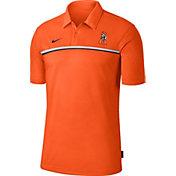 Nike Men's Oklahoma State Cowboys Orange Dri-FIT Football Sideline Polo