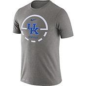 Nike Men's Kentucky Wildcats Grey Legend Basketball Key T-Shirt
