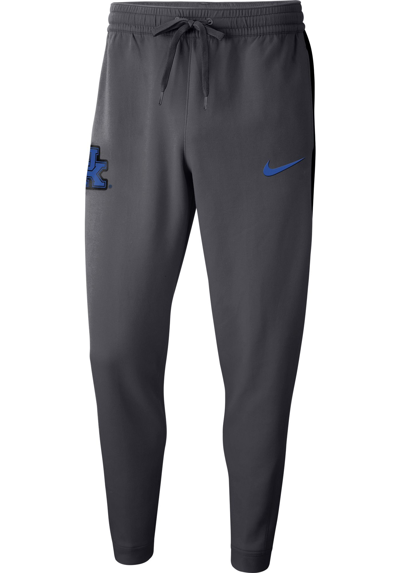 Nike Men's Kentucky Wildcats Grey Dri-FIT Showtime Basketball Fleece Pants