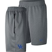 Nike Men's Kentucky Wildcats Grey Dri-FIT Spotlight Basketball Shorts