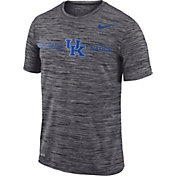 Nike Men's Kentucky Wildcats Grey Velocity 'Big Blue Nation' Football T-Shirt