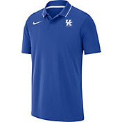 Nike Men's Kentucky Wildcats Blue Dri-FIT Basketball Polo