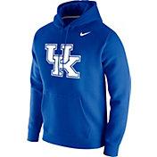 Nike Men's Kentucky Wildcats Blue Club Fleece Pullover Hoodie