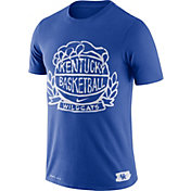 Nike Men's Kentucky Wildcats Blue Dry Crest Basketball T-Shirt