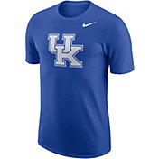 Nike Men's Kentucky Wildcats Blue Dri-FIT Logo T-Shirt