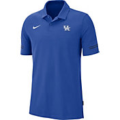 Nike Men's Kentucky Wildcats Blue Elevated Flex On-Field Performance Polo