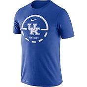 Nike Men's Kentucky Wildcats Blue Legend Basketball Key T-Shirt