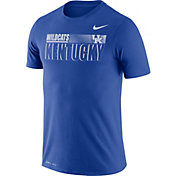 Nike Men's Kentucky Wildcats Blue Legend Team Issue Football T-Shirt