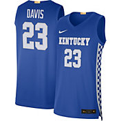 Nike Men's Anthony Davis Kentucky Wildcats #23 Blue Limited Basketball Jersey