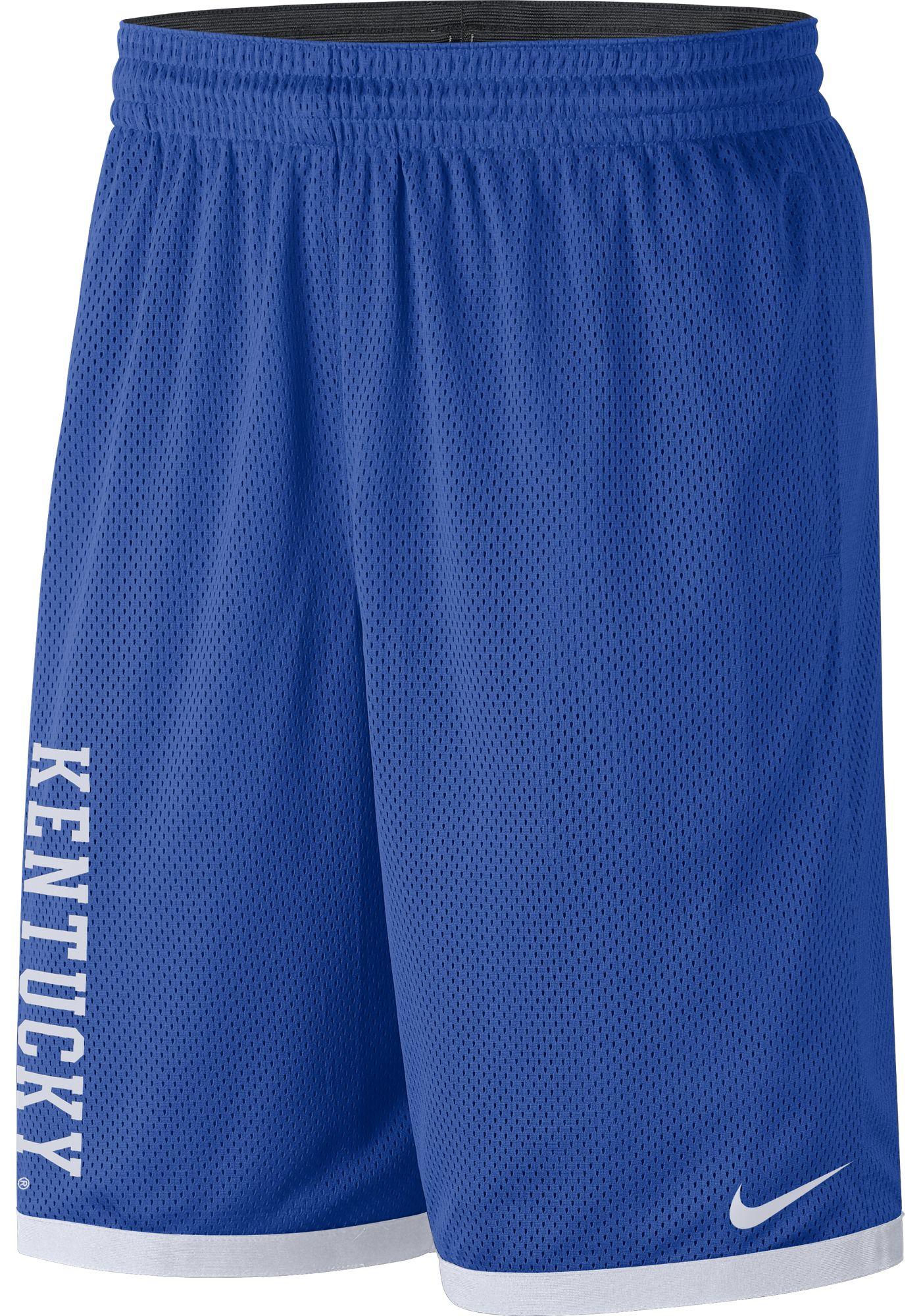 Nike Men's Kentucky Wildcats Blue Dri-FIT Mesh Basketball Shorts