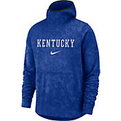 Nike Men's Kentucky Wildcats Blue Spotlight Pullover Basketball Hoodie