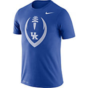 Nike Men's Kentucky Wildcats Blue Legend Football Icon T-Shirt