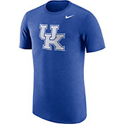 Nike Men's Kentucky Wildcats Blue Tri-Blend T-Shirt