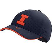 Nike Men's Illinois Fighting Illini Blue AeroBill Classic99 Football Sideline Hat