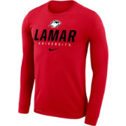 Nike Men's Lamar Cardinals Red Dri-FIT Legend 2.0 Long Sleeve T-Shirt