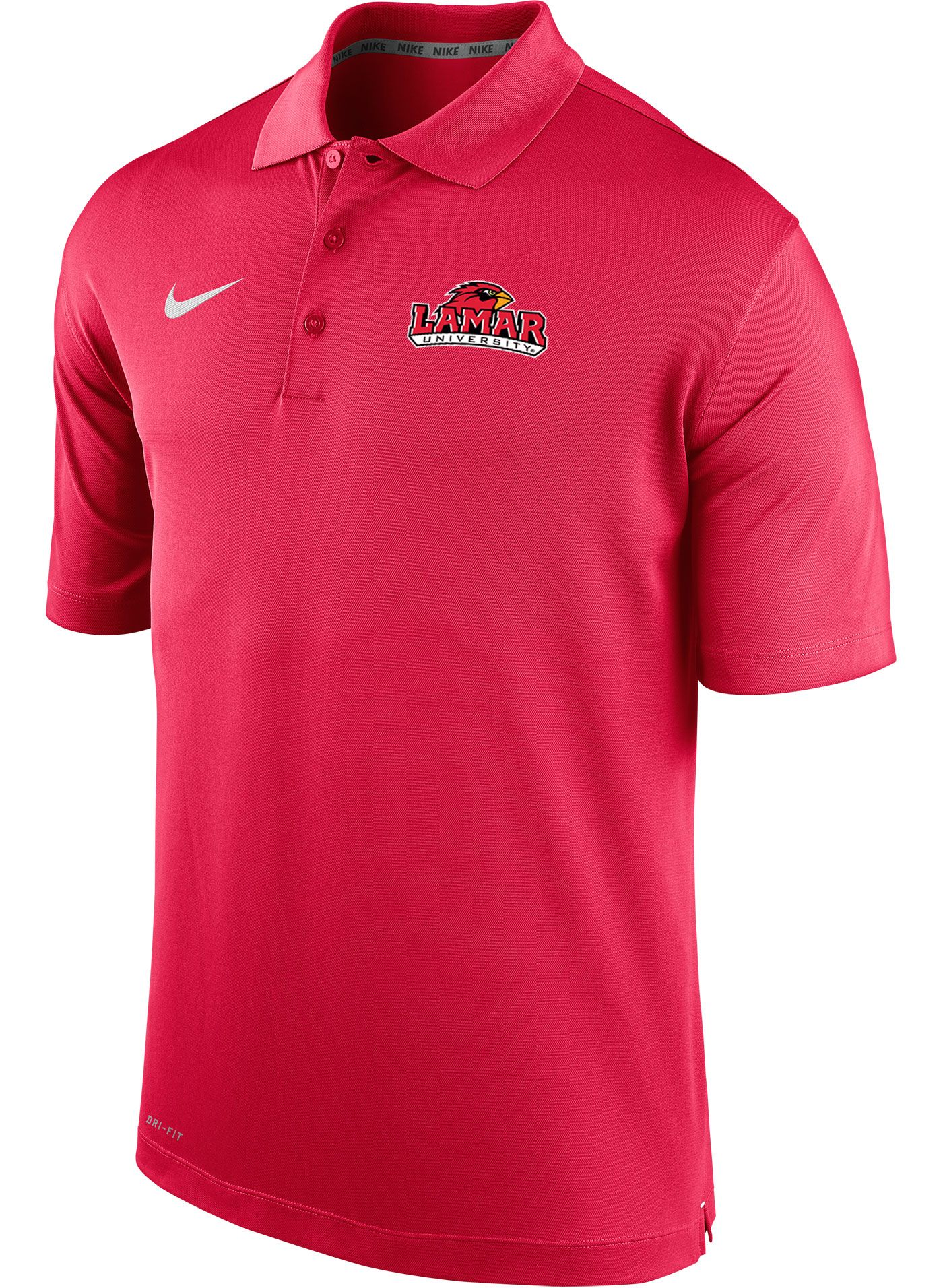 Nike Men's Lamar Cardinals Red Varsity Polo