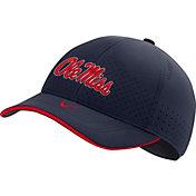 Nike Men's Ole Miss Rebels Blue AeroBill Classic99 Football Sideline Hat