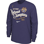 Nike Men's 2019 National Champions LSU Tigers Celebration Long Sleeve T-Shirt