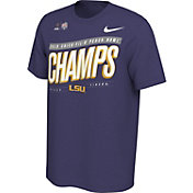 Nike Men's 2019 Chick-fil-A Peach Bowl Champions LSU Tigers Locker Room T-Shirt
