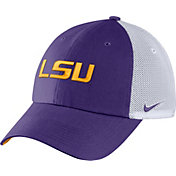 Nike Men's LSU Tigers Purple Heritage86 Logo Hat