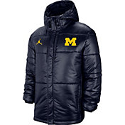 Jordan Men's Michigan Wolverines Blue Performance Full-Zip Jacket