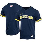 Nike Men's Michigan Wolverines Blue Replica Baseball Jersey