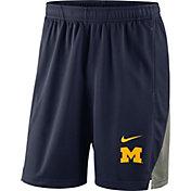 Nike Men's Michigan Wolverines Blue Franchise Shorts