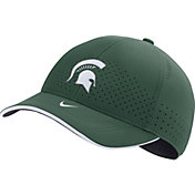 Nike Men's Michigan State Spartans Green AeroBill Classic99 Football Sideline Hat