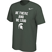 Nike Men's Michigan State Spartans Green Mantra T-Shirt