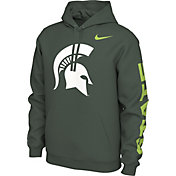 Nike Men's Michigan State Spartans Green Energy Pack Highlight Hoodie