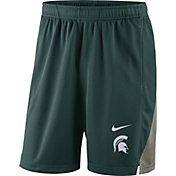 Nike Men's Michigan State Spartans Green Franchise Shorts