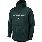 Nike Men's Michigan State Spartans Green Spotlight Pullover Basketball Hoodie
