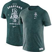 Nike Men's Michigan State Spartans Green Statement T-Shirt