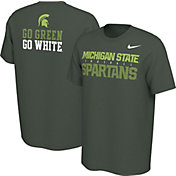 Nike Men's Michigan State Spartans Green Student Body T-Shirt