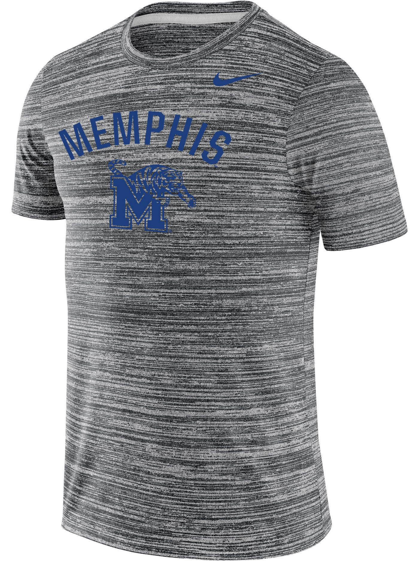 Nike Men's Memphis Tigers Grey Velocity Legend T-Shirt