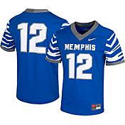 Nike Men's Memphis Tigers #12 Blue Dri-FIT Game Football Jersey