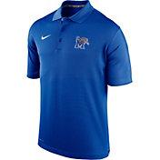 Nike Men's Memphis Tigers Blue Varsity Polo