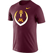 Nike Men's Minnesota Golden Gophers Maroon Dri-FIT Cotton Football Icon T-Shirt