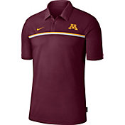Nike Men's Minnesota Golden Gophers Maroon Dri-FIT Football Sideline Polo