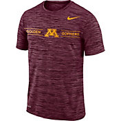 Nike Men's Minnesota Golden Gophers Maroon Velocity Football T-Shirt
