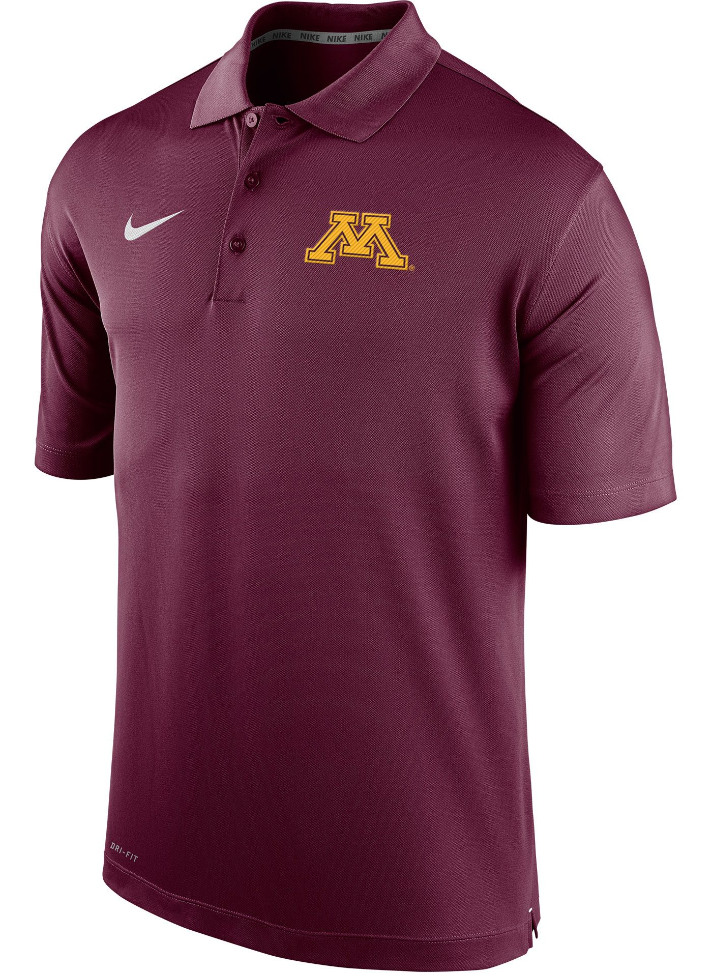 Nike Men's Minnesota Golden Gophers Maroon Varsity Polo