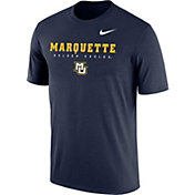 Nike Men's Marquette Golden Eagles Blue Legend T-Shirt