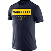 Nike Men's Marquette Golden Eagles Blue Basketball Legend Practice T-Shirt