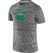 Nike Men's Marshall Thundering Herd Grey Velocity Legend T-Shirt