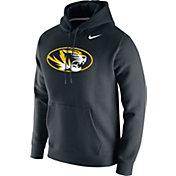 Nike Men's Missouri Tigers Club Fleece Pullover Black Hoodie